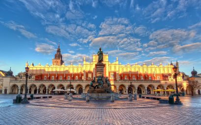Place centrale de Cracovie